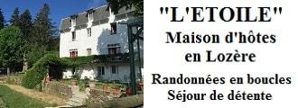 L'Etoile Maison d'hôtes à La Bastide Puylaurent entre Lozère, Ardèche et Cévennes