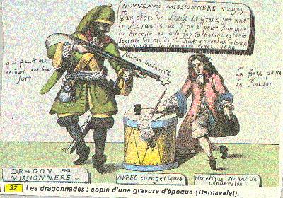 Die Cevennen wurden zum Schauplatz des Krieges der Camisards