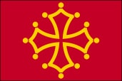 Drapeau du Occitanie
