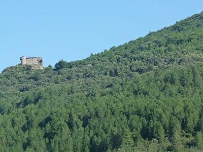 Château du Cheylard à Aujac dans le Gard