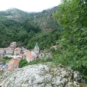 Saint Laurent les Bains en Ardèche