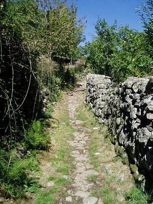 Chemin Régordane ou sentier de St Gilles GR700