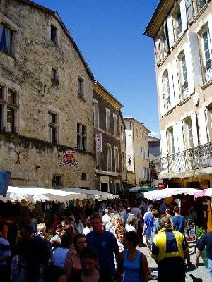 Marché des Vans en Ardèche