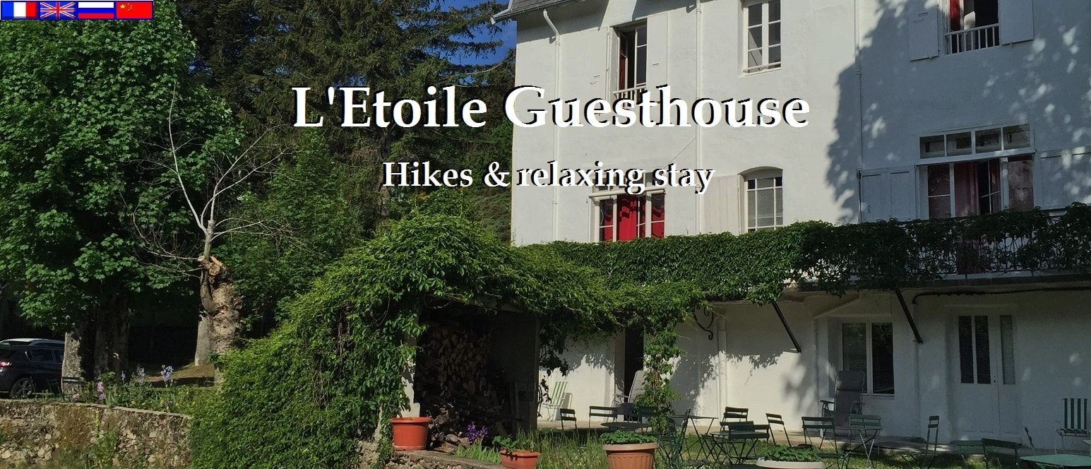 L'Etoile Guesthouse Hikes & relaxing stays