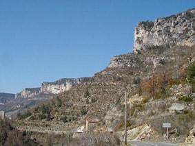 6 Wandelen in de Gorges de l'Aveyron naar de Lot