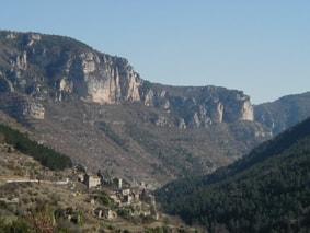3 Wandelen in de Gorges de l'Aveyron naar de Lot