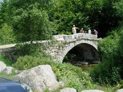 Randonnée avec le GR68 sur le Mont Lozère
