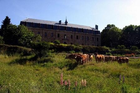 L'abbaye Notre Dame des Neiges en Ardèche