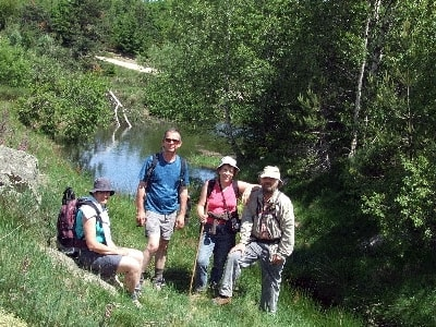 Hikes and stays at L'Etoile between Lozere, Ardeche and Cevennes at la Bastide-Puylaurent on the riverbanks of the Allier.