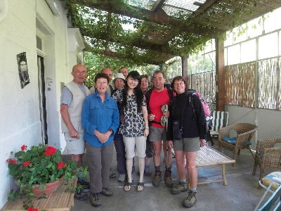 43 Internship in France of Lara Khakimova at L'Etoile Guest house
