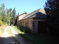 15.5km hike from La Bastide-Puylaurent in Lozere