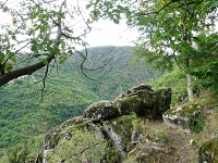 洛泽尔省La Garde-Guerin 10公里徒步路线